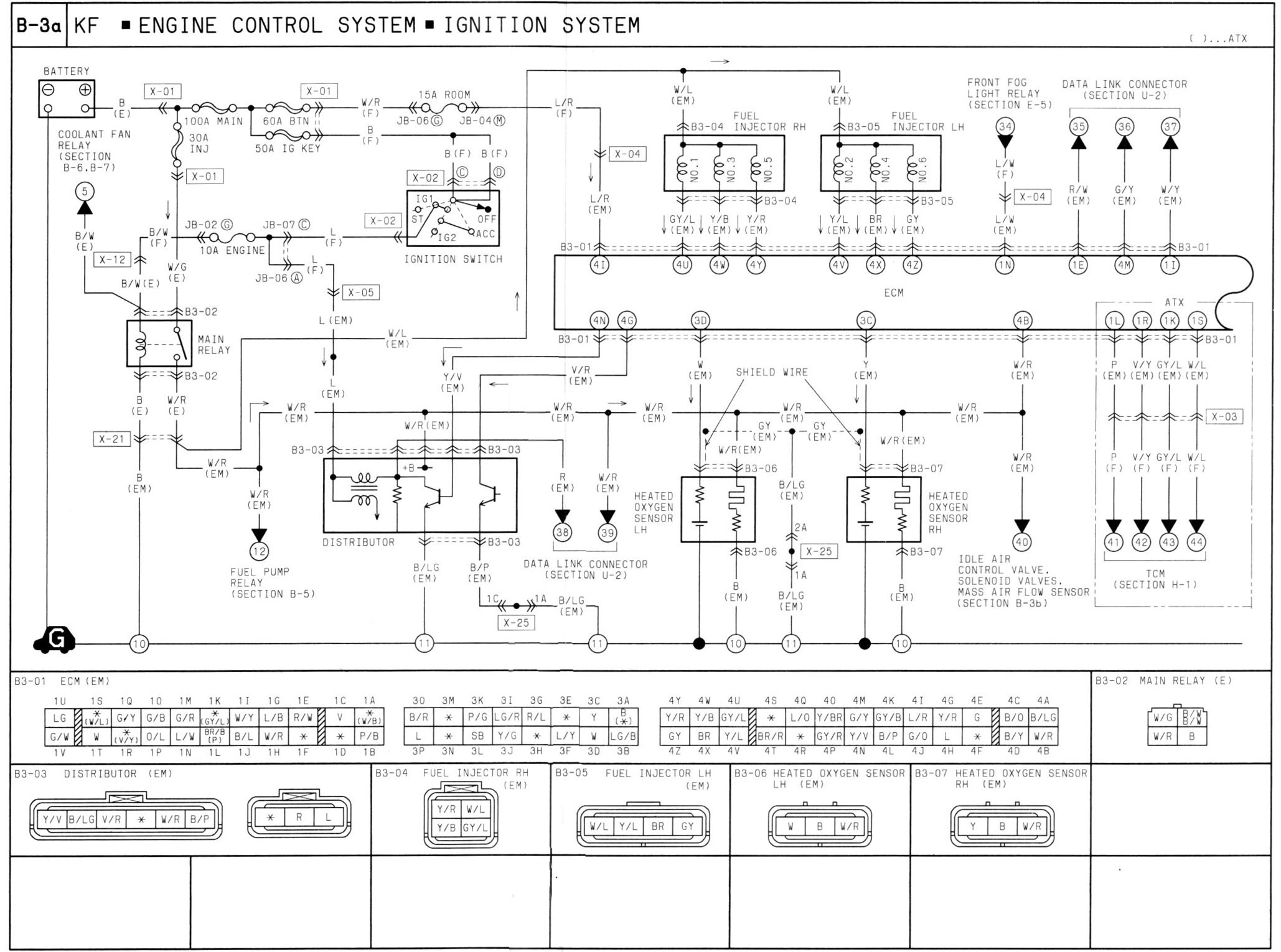 ... mazda factory wiring diagrams book. Page 1